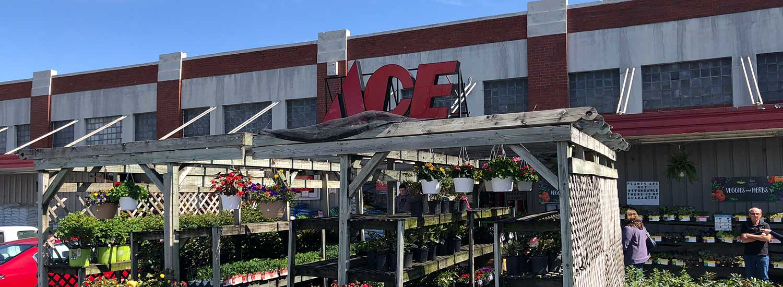 The Bridgewater Ace store.