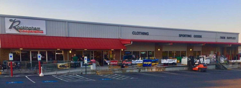 The Harrisonburg Sporting Goods store.