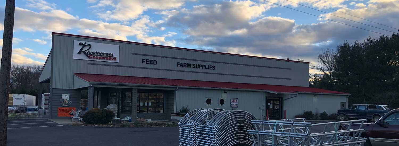 The Stuarts Draft AG Supply Store.
