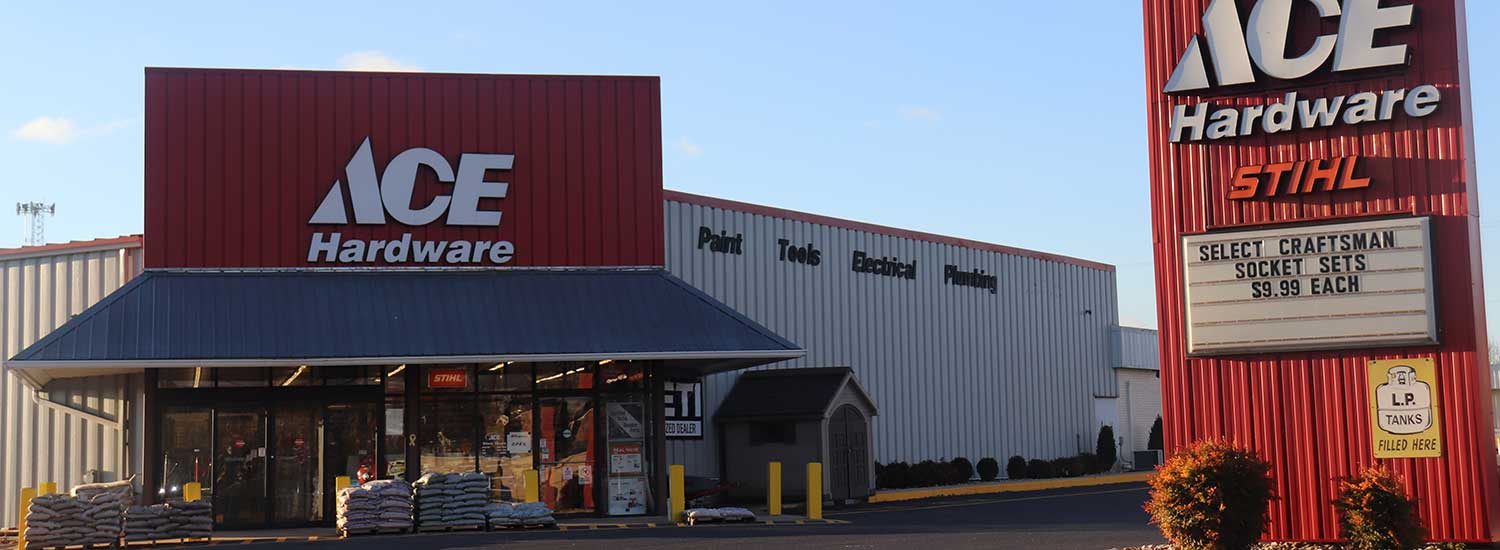 The Verona ACE Hardware Store store.
