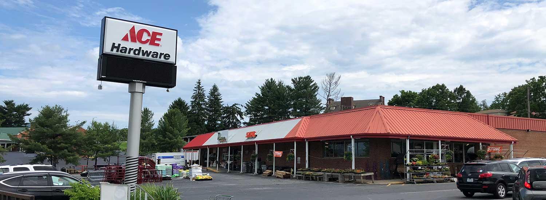 The Waynesboro AG & Ace Hardware store.