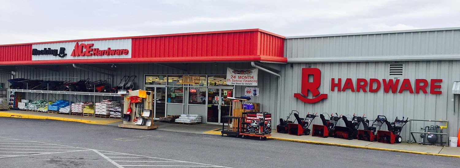 The Rocking R Ace Hardware store.