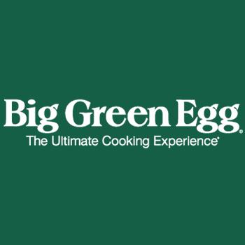 The Big Green Egg logo.