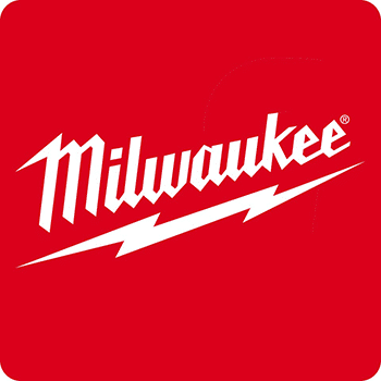 The Milwaukee logo.