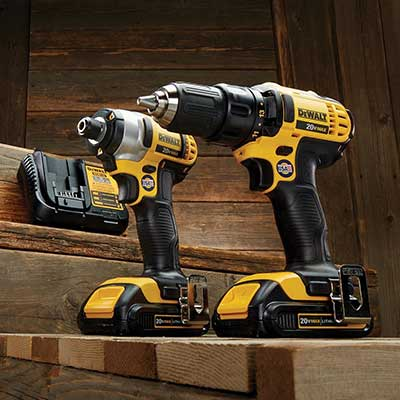Two power drill sets.