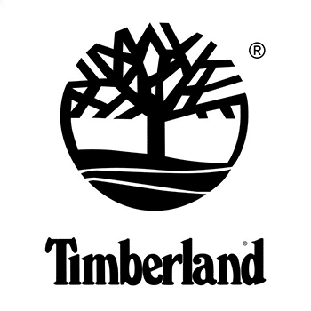 The Timberland logo.