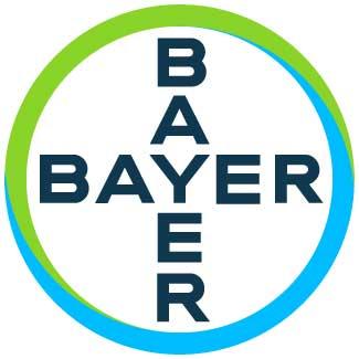 The Bayer logo.