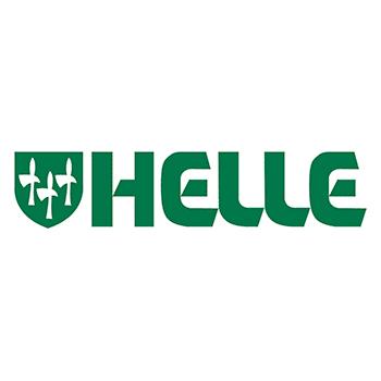 The Helle logo.