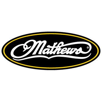 The Mathews logo.