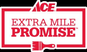 Ace Paint Extra Mile Promise Logo
