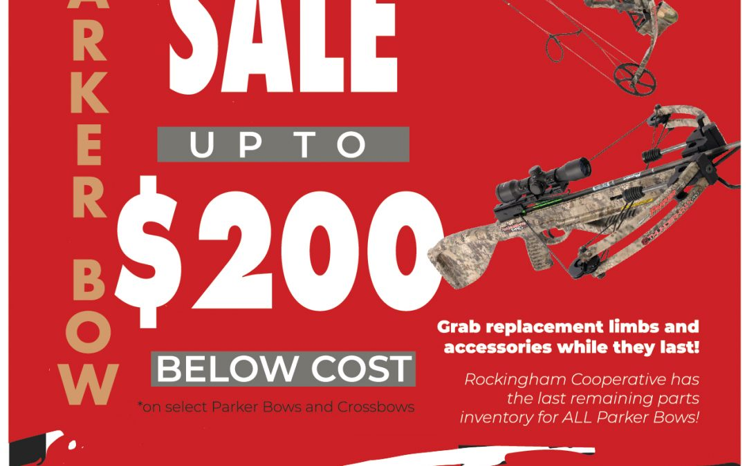 Parker Bow & Crossbow Blowout Sale!