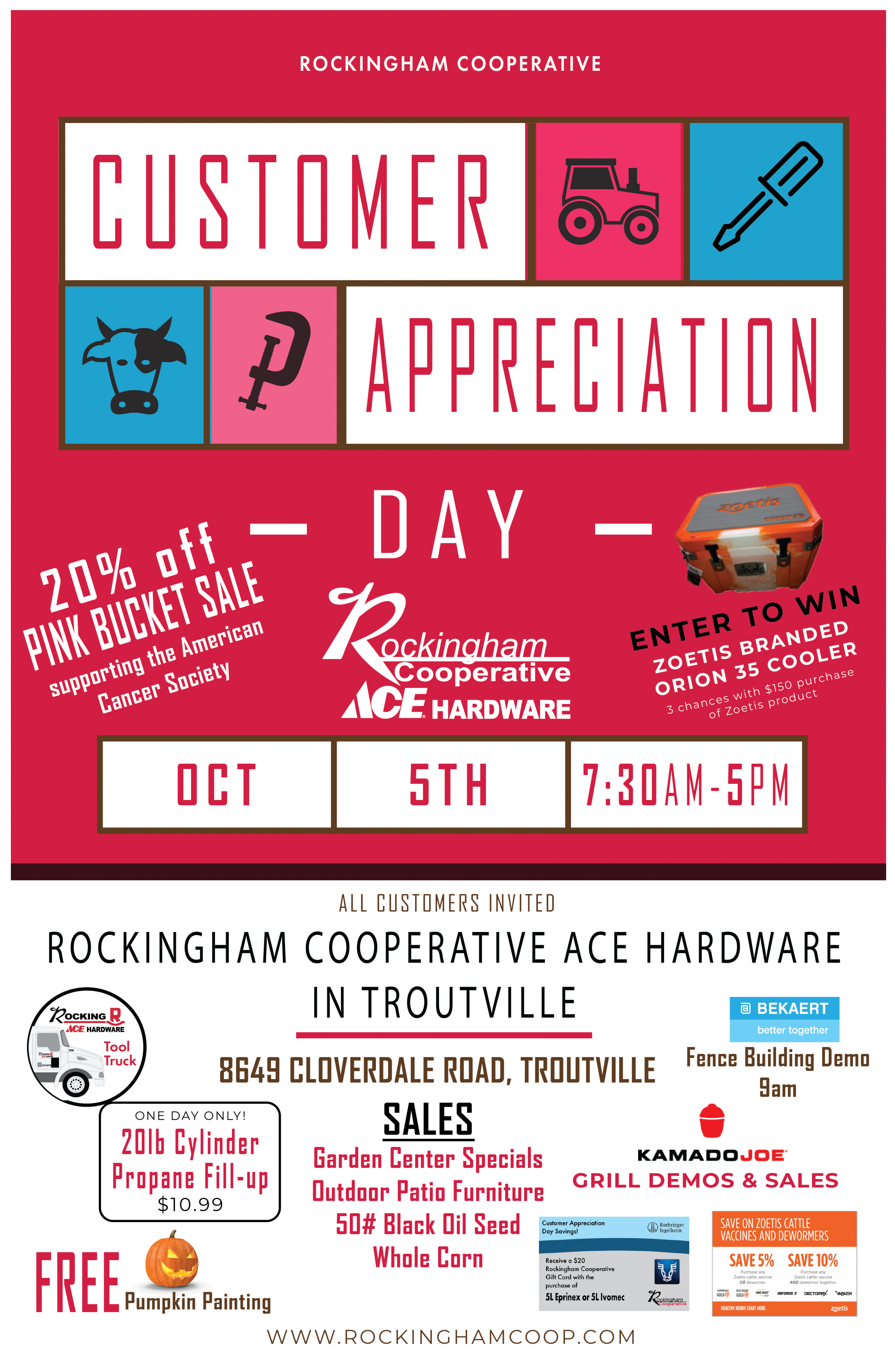 Customer Appreciation Day Troutville Ace Amp Ag Supply