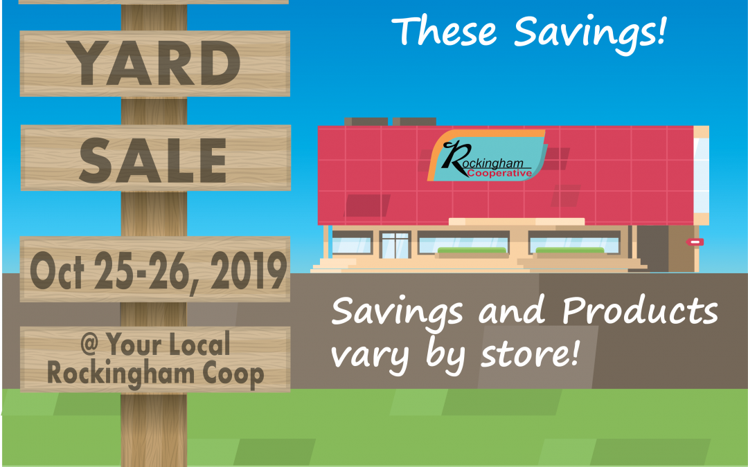 Company Wide Yard Sale & Clearance Event