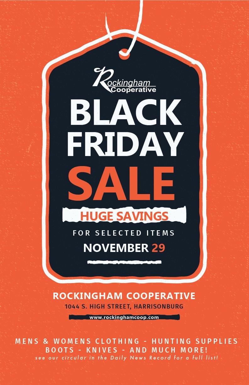 Black Friday Sale Rockingham Cooperative