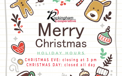 Christmas Hours of Operation