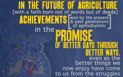We Believe in the Future of Agriculture