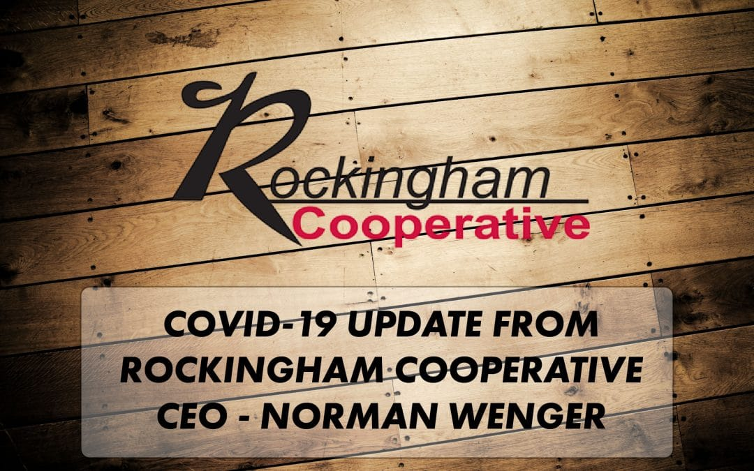 A Message from our CEO – Norman Wenger on COVID-19