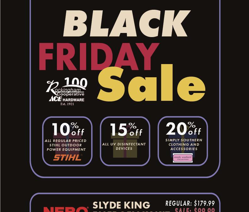 Black Friday Sale-Bridgewater Ace Hardware